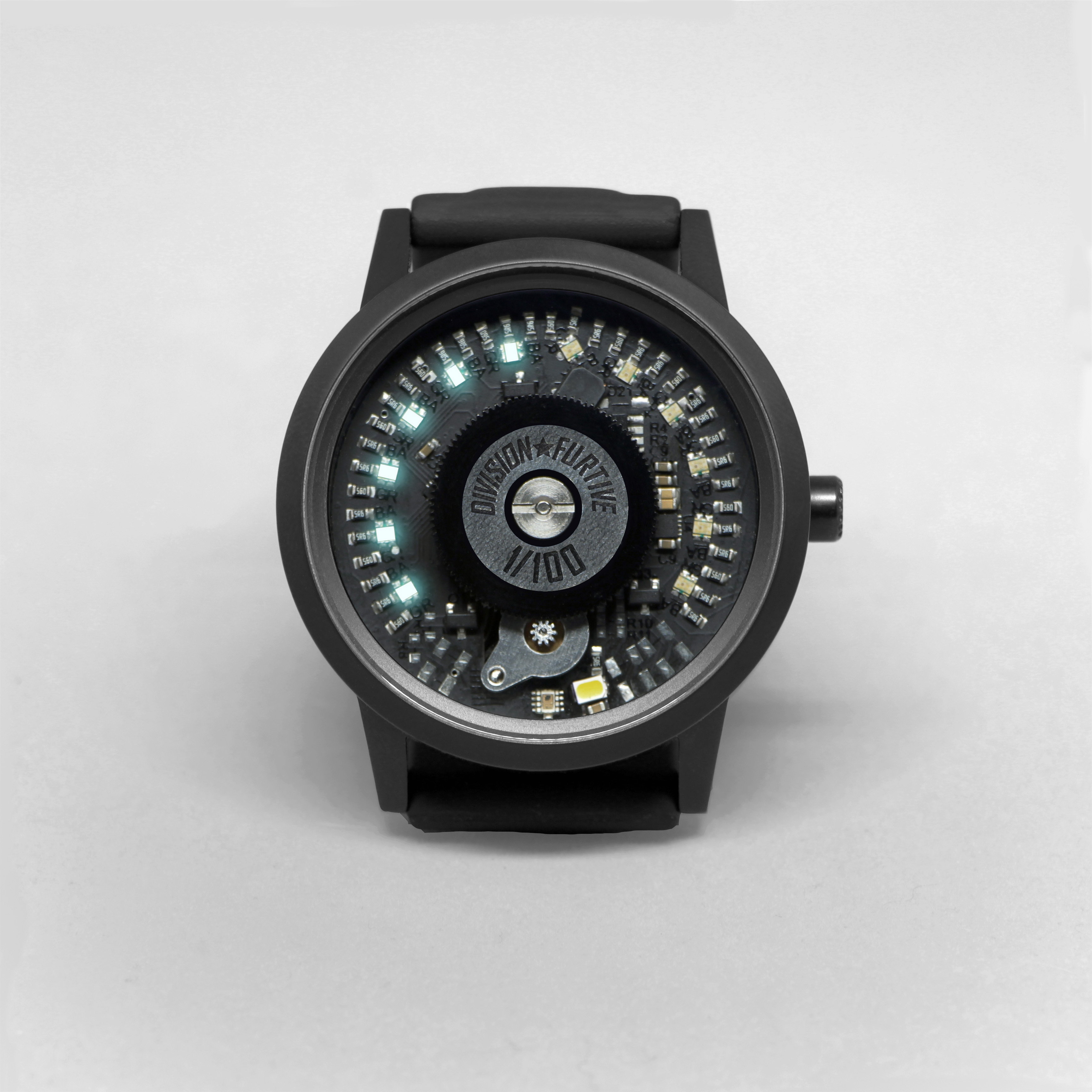 Type 77.MOVE Matte Titanium with Black PVD