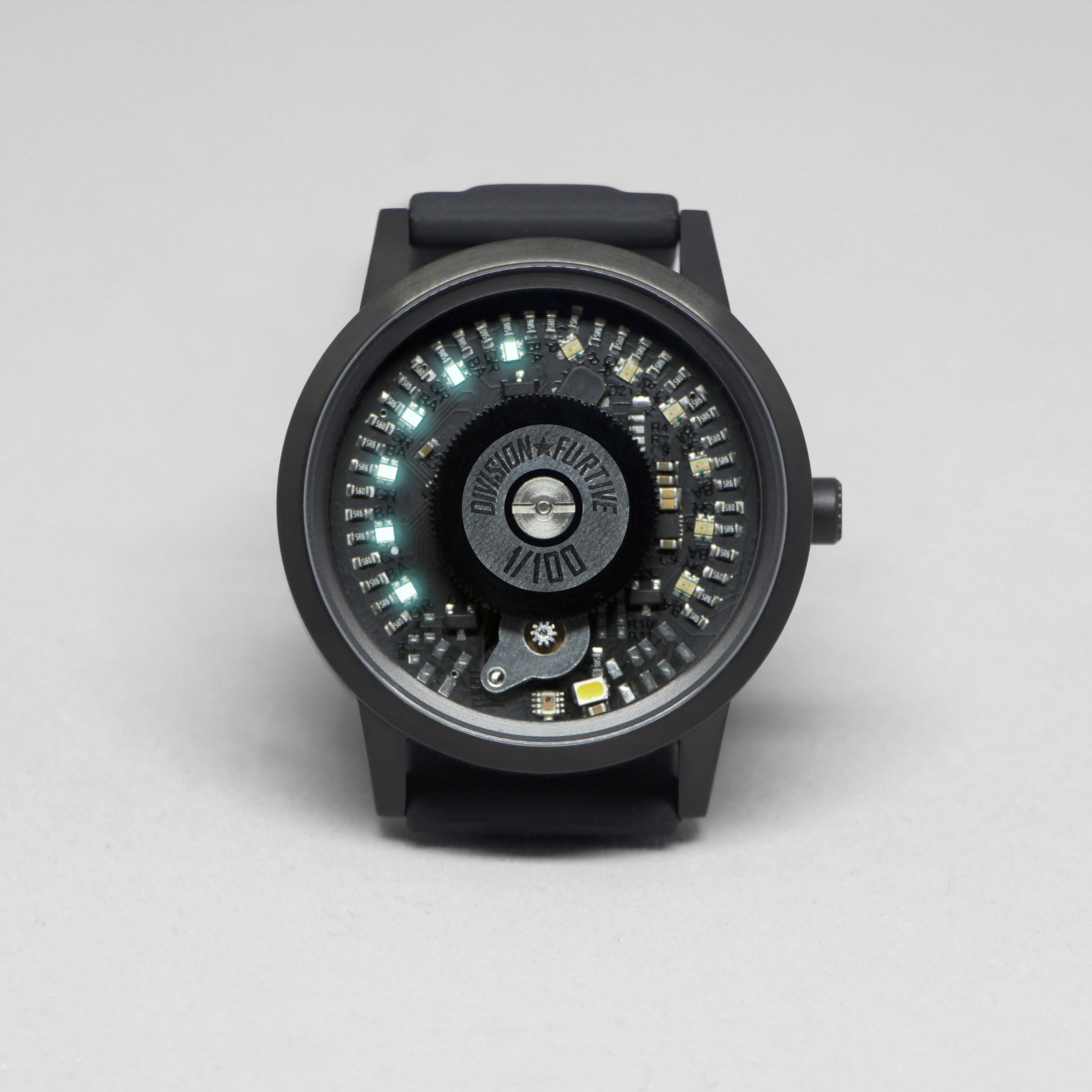 Type 77.MOVE Brushed Titanium with Black PVD